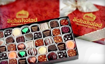 Handmade Confections at Schakolad Chocolate Factory (Half Off). Two Options Available.