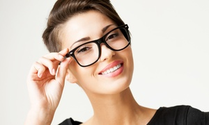 Vision by Amel: Routine Eye Exam with $100 Glasses Credit or Six-Month Contact Supply at Vision by Amel (Up to 69% Off)