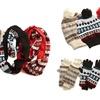 Muk Luks Women's Hat, Gloves, and Scarf Set