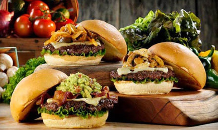 Fuddruckers - Bloomfield Hills: $36 for $75 Worth of Casual American Fare and Drinks at Fuddruckers