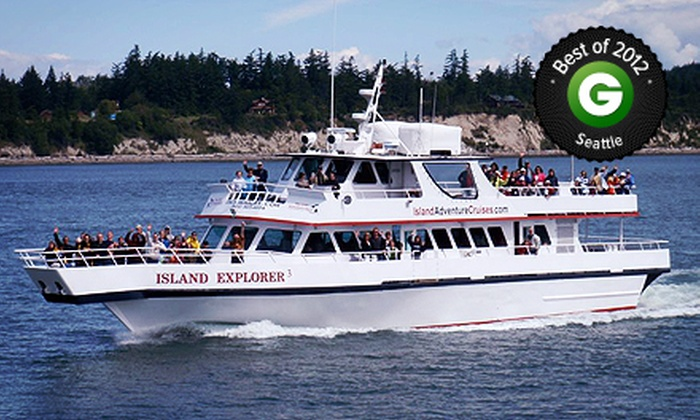 Island Adventures - Northwest Everett: $39 for Gray-Whale-Watching Tour from Island Adventures (Up to $69 Value)
