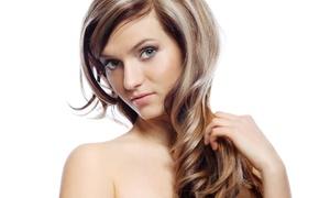 Yalda Beauty Salon: Haircut, Color Services, or Keratin Treatment at Yalda Beauty Salon (Up to 57% Off). Five Options Available.