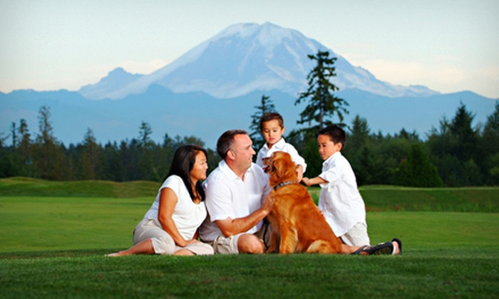 Hudson's Portrait Design - Tukwila Urban Center: $69 for a Photo Package with One-Hour Shoot, Prints, and Digital Slideshow from Hudson's Portrait Design ($600 Value)
