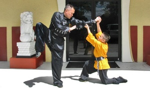 Wah Lum Kung Fu & Tai Chi: Kid or Adult Martial Arts Classes at Wah Lum Kung Fu & Tai Chi (Up to 80% Off). Two Options Available.