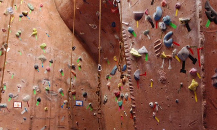 Stoneworks Climbing Gym - Vose: Five Visits with Gear or One Month of Unlimited Wall Access with Gear at Stoneworks Climbing Gym (Half Off)
