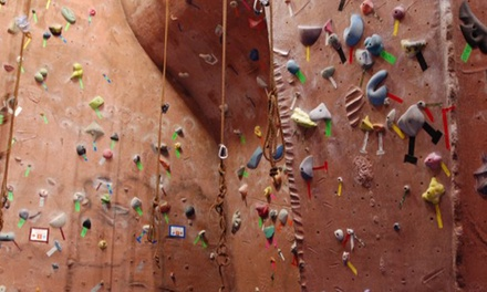 Five Visits with Gear or One Month of Unlimited Wall Access with Gear at Stoneworks Climbing Gym (47% Off)