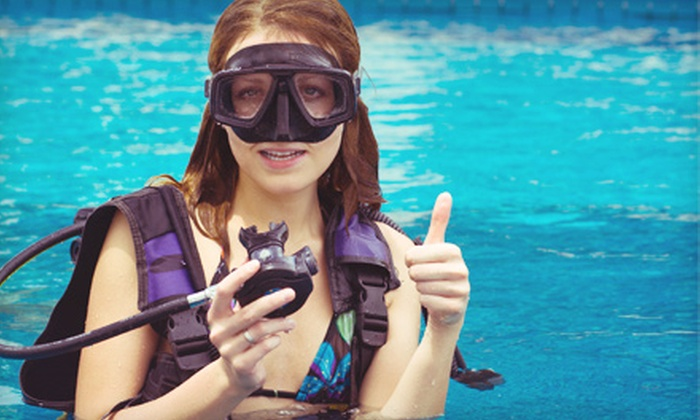SCUBASTOP - Mansfield: Beginner PADI Open-Water Scuba-Certification for One or Two at SCUBASTOP (Up to 53% Off)