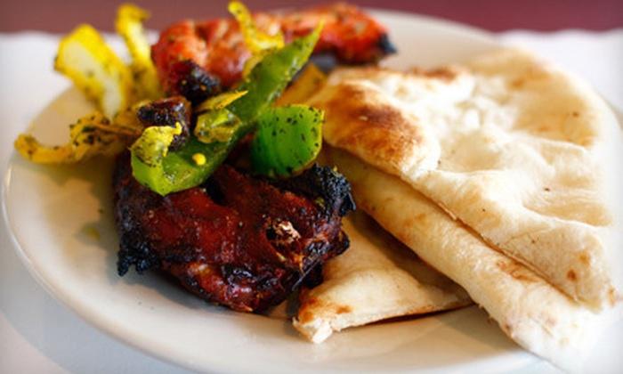 Shikara Restaurant - Viceroy of India Restaurant: $12 for $25 Worth of Indian Cuisine at Shikara