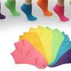 12-Pack of Women's or Kids' Neon Anklet Socks