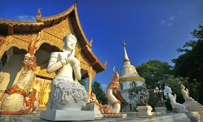 City and Beach Tour of Thailand with Airfare - Thailand and UAE: 7- or 10-Day Tour of Thailand with Round-Trip Airfare, Accommodations, Tours, and Breakfast from Pacific Holidays