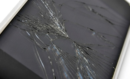 iPhone, Samsung Galaxy, or iPad Screen Repair at MobileComm (Up to 51% Off). Five Options Available.
