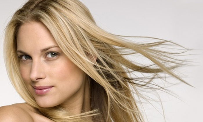 Heather Hamilton Hair at The Grapevine Salon - Milwaukie Heights: Salon Packages at Heather Hamilton Hair at The Grapevine Salon (Up to 61% Off). Four Options Available.