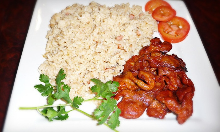 Filipino Cafe - Flour Bluff: Filipino Food at Filipino Cafe (Up to 53% Off). Two Options Available.