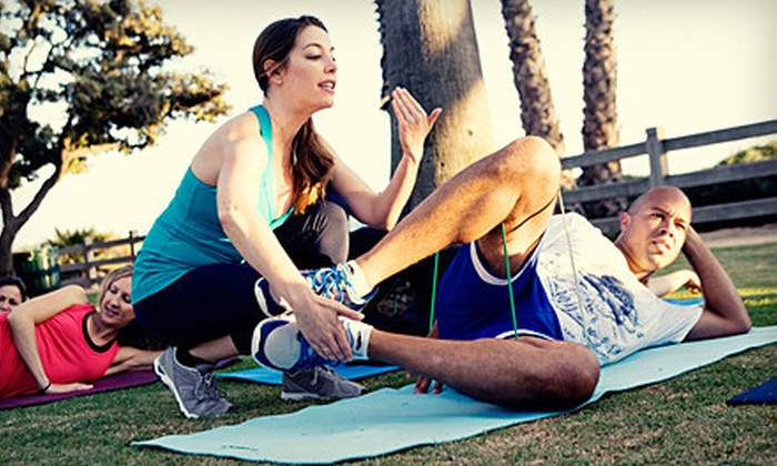 Cinch Fitness - Santa Monica: Three or Five Pilates Fusion Classes or One Private Class for Five at Oceanside Park with Cinch Fitness in Santa Monica (Up to 78% Off)