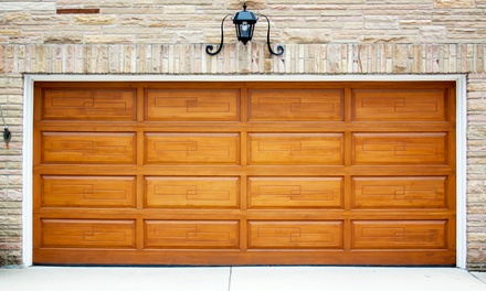 Garage Door Tune-Up with Optional Quiet-Roller Replacement from Door Link Network (Up to 81% Off)