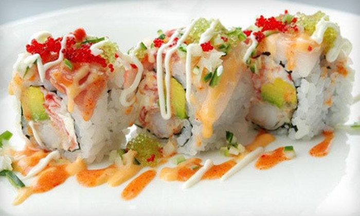 Dake Japanese Fusion Restaurant - Cherry Hill: $15 for $30 Worth of Japanese Fusion Food at Dake Japanese Fusion Restaurant