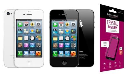 Déstockage Apple iPhone 4S reconditionné , 8 ou 16 Go + Protecteur en Verre Trempé offert, livraison gratuite