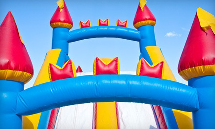 Jumping Panda - Atlanta: Birthday Package with Five-Hour Bounce-House or Wet or Dry Slide Rental from Jumping Panda (Up to 57% Off)