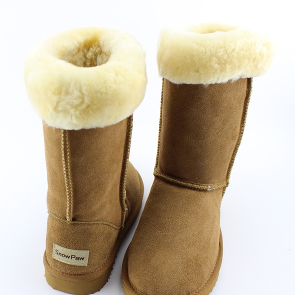 893b6473370 Snow Paw Ladies' Sheepskin Boots in Choice of Colour for £49.99 With Free  Delivery (70% Off)