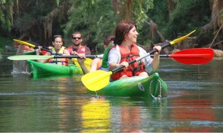Ruta en kayak para hasta 4 personas por la Bahía de los Alfacs desde 19,99 € con Natura & Aventura