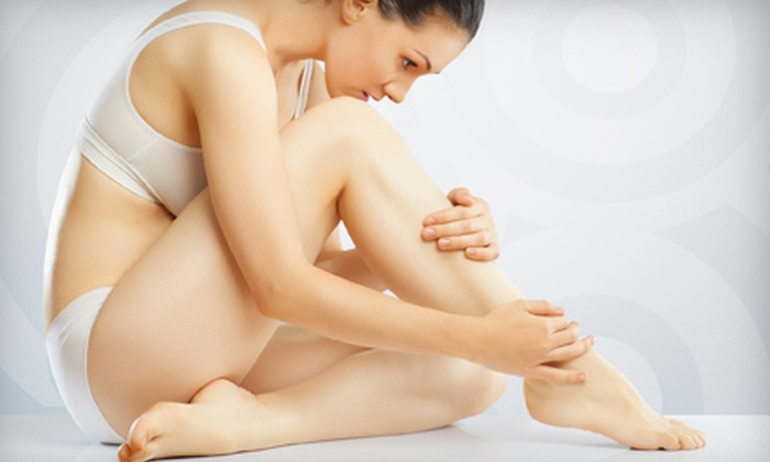 GL Clinic - Multiple Locations: $149 for Three Sclerotherapy Vein-Removal Treatments at GL Clinic ($396 Value)