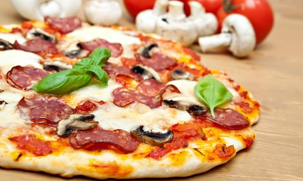 Pizza and Italian Food at Pizza Factory (50% Off). Two Options Available.