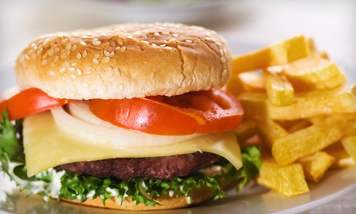 Mytiburger - Oak Forest - Garden Oaks: Burger Meal for Two or Four with Fries and Drinks at Mytiburger (Up to 54% Off)