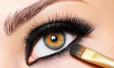 Eyebrow and Lash Enhancements at iCandy Eye Salon & Academy (Up to 55% Off). Three Options Available.