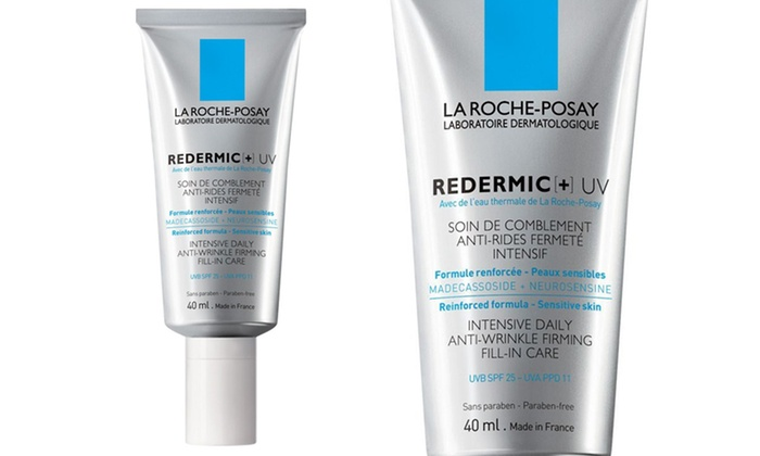 la roche posay redermic uv intensive daily anti wrinkle cream groupon. Black Bedroom Furniture Sets. Home Design Ideas