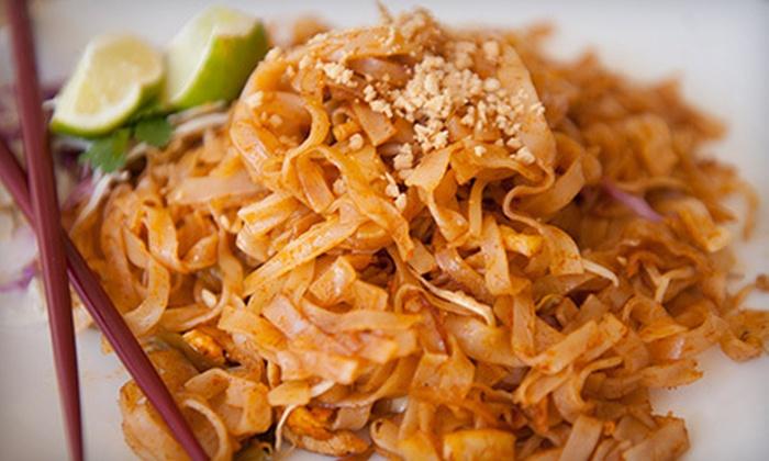 Bangkok Palace Thai Restaurant - Santa Barbara: $10 for $20 Worth of Thai Food and Drinks at Bangkok Palace Thai Restaurant