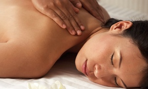 My Head 2 Toe: $35 for a Full-Body Massage Package with Organic Massage Oil and Milk Salt Footbath ($70 Value)