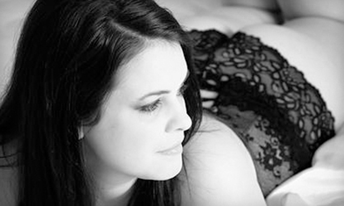 Shhh... by Capture the Moment Photography - Pawtucket: $99 for a Boudoir Photo Shoot with Prints and a Digital File at Shhh... by Capture the Moment Photography ($490 Value)