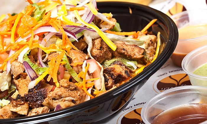 Hot Clay Oven - Midtown Center: Two or Four Groupons, Each Good for $16 Worth of Indian Fusion Food at Hot Clay Oven (Up to 49% Off)