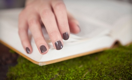 Three or Five Shellac Manicures at Mina's Salon (Up to 58% Off)