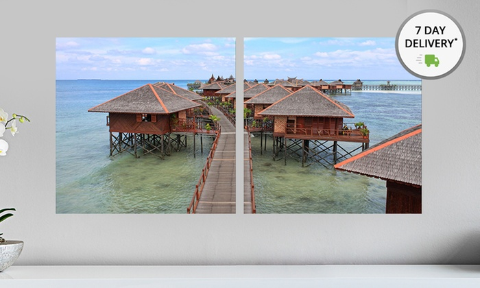 "40""x20"" Where to Travel in the New Year Diptych Wall Art: 40""x20"" Where to Travel in the New Year Diptych Wall Art. Multiple Styles Available. Free Returns."