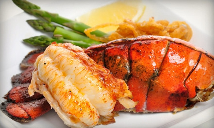 Tia's Topside - Kennebunk: $39 for $79 Worth of New England Cuisine for Two at Tia's Topside