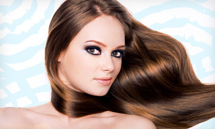 De-lush Salon & Day Spa - Centreville: Moroccanoil Hair Treatment with Option for Haircut at De-lush Salon & Day Spa (Up to 53% Off)