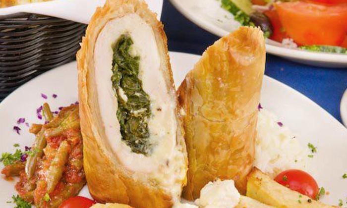Blue Olive Greek Taverna - West End: Greek Food at Blue Olive Greek Taverna (50% Off). Three Options Available.