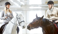 One Hour-Long Horse Riding Lessons at The Cabin Equestrian Centre (Up to 52% Off)