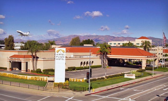 Airtel Plaza Hotel - Orange County: One- or Two-Night Stay with Breakfast for Two and Parking at Airtel Plaza Hotel in Greater LA