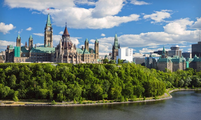 Delta Ottawa City Centre - Byward Market - Parliament Hill: Two- or Three-Night Stay with $50 Dining Credit at Delta Ottawa City Centre in Ottawa, ON