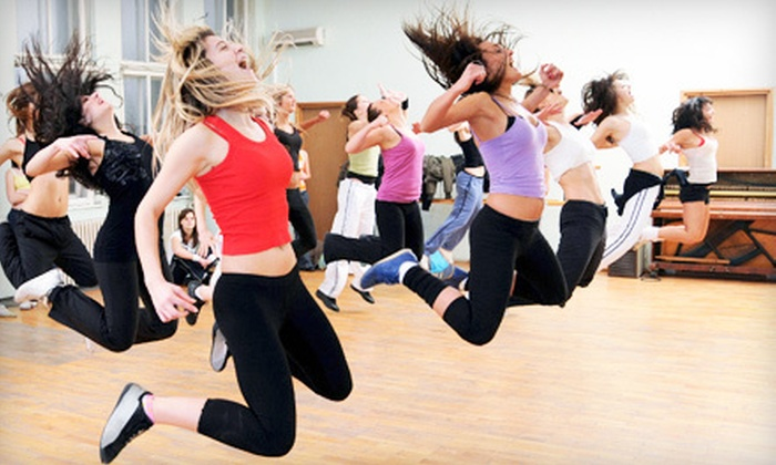 Dancin' Motion - Armenia Gardens Estates: 5 or 10 Drop-In Zumba Classes at Dancin' Motion (Up to 60% Off)