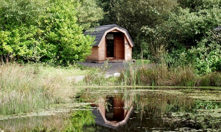 Lancashire: 1 to 3 Night Camping Pod Stay For 2 Adults and 2 Children at Cleveley Bridge Fishery And Leisure Park