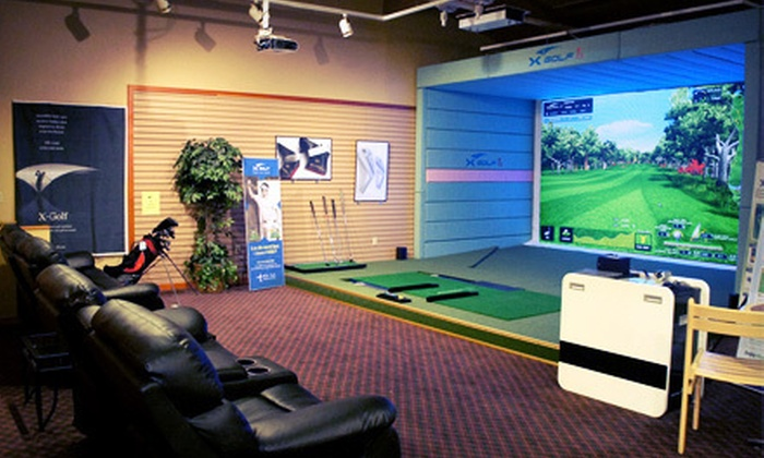 BirdieFinish Golf - Gaffney Lane: Two or Three Hours in the Golf Simulator for Up to Six at BirdieFinish Golf (Up to 53% Off)