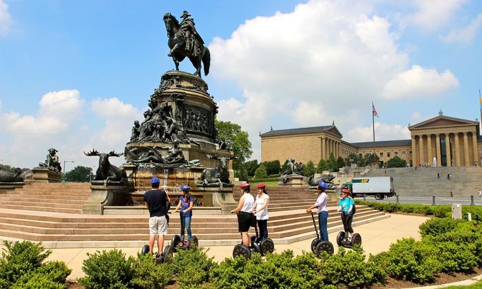 Philadelphia Segway Tours by Wheel Fun Rentals - Center City East: Segway Tours from Philadelphia Segway Tours by Wheel Fun Rentals (50%Off)