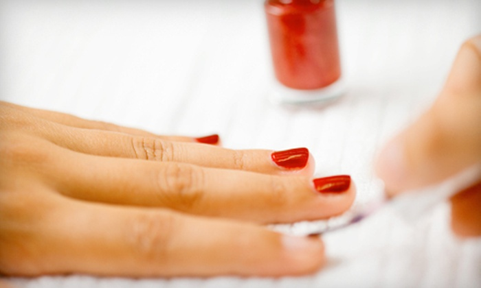 Pure Elegance Spa - Richmond Heights: One or Two Shellac or Spa Manicures with Spa Pedicures at Pure Elegance Spa (Up to 68% Off)