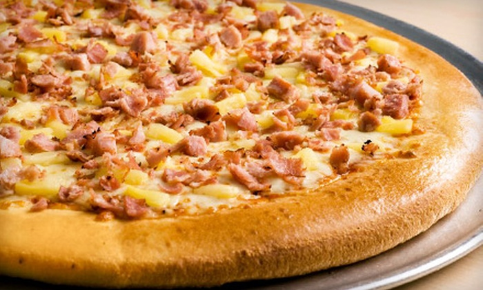 Freshslice Pizza - Maple Ridge: Pizza Combo Meals at Freshslice Pizza (Up to 54% Off). Two Options Available.