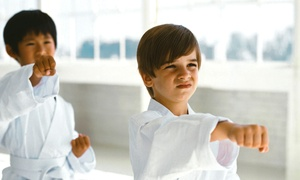 Kids Love Martial Arts: 10 or 20 Classes with Private Lessons, Initiation, and Uniform at Kids Love Martial Arts (Up to 91% Off)