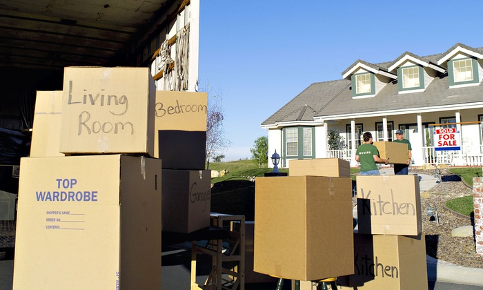 Moving Dawgs - Speedway: Moving or Packing Services, or Reusable Moving Box Rental from Moving Dawgs (Up to 51% Off)