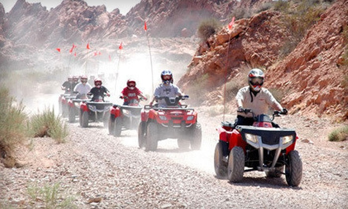 Adrenaline ATV Tours - North Las Vegas: $85 for a Three-Hour Valley of Fire ATV Adventure from Adrenaline ATV Tours ($170 Value)